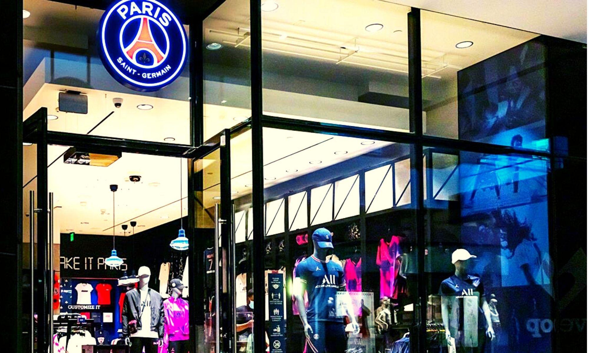 Une boutique permanente du Paris Saint-Germain à Los Angeles